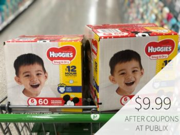 Huggies Box Diapers Just $9.99 At Publix - Almost Half Price on I Heart Publix