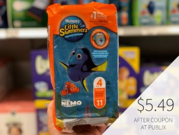 Huggies Little Swimmers Just $5.49 After Sale & Printable Coupon on I Heart Publix