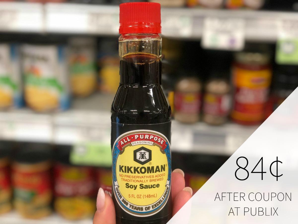 Kikkoman Soy Sauce - As Low As 84¢ At Publix on I Heart Publix