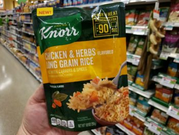 NEW Knorr Ready To Heat Rice On Sale Buy One, Get One FREE At Publix on I Heart Publix 2