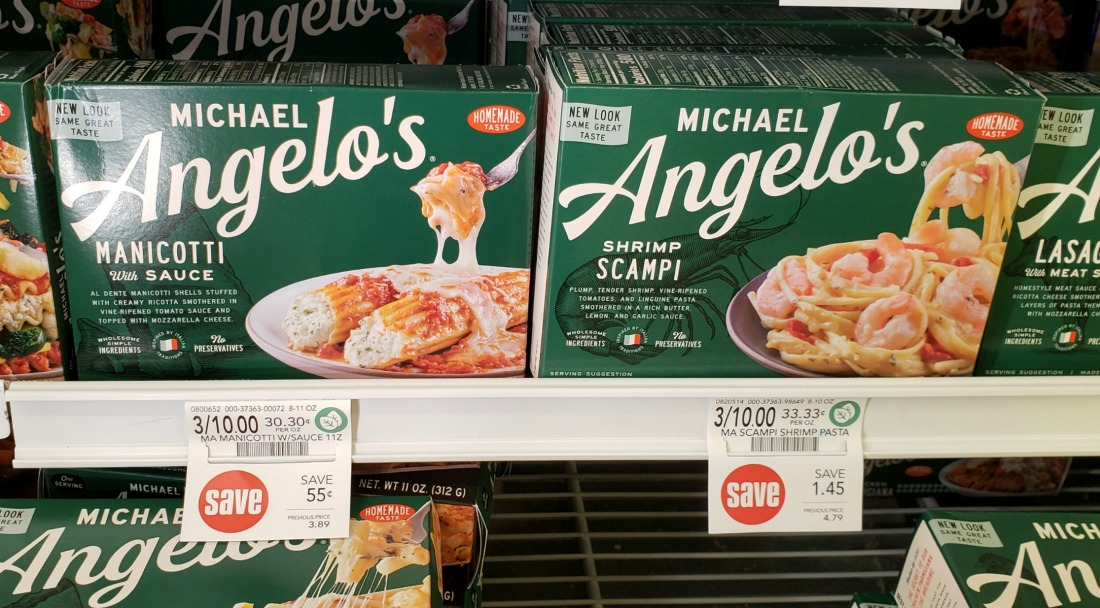Nice Deal On Michael Angelo's Entrees At Publix - Sale, Digital Coupon & Cash Back Offer! on I Heart Publix