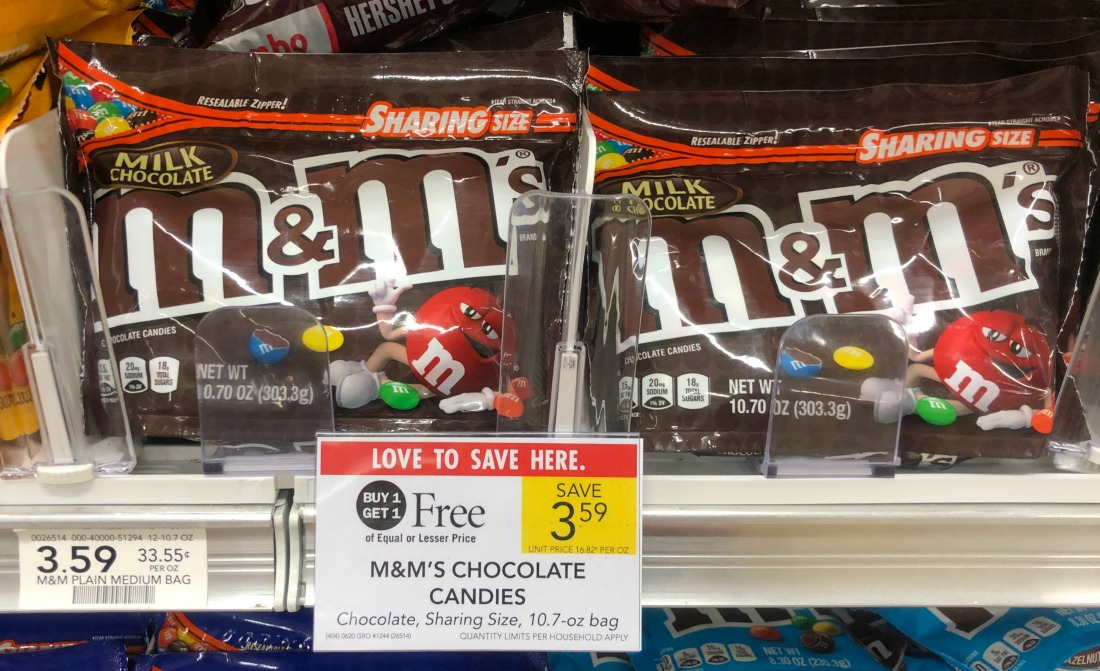 M&M's Chocolate Candies Just $1.30 At Publix on I Heart Publix