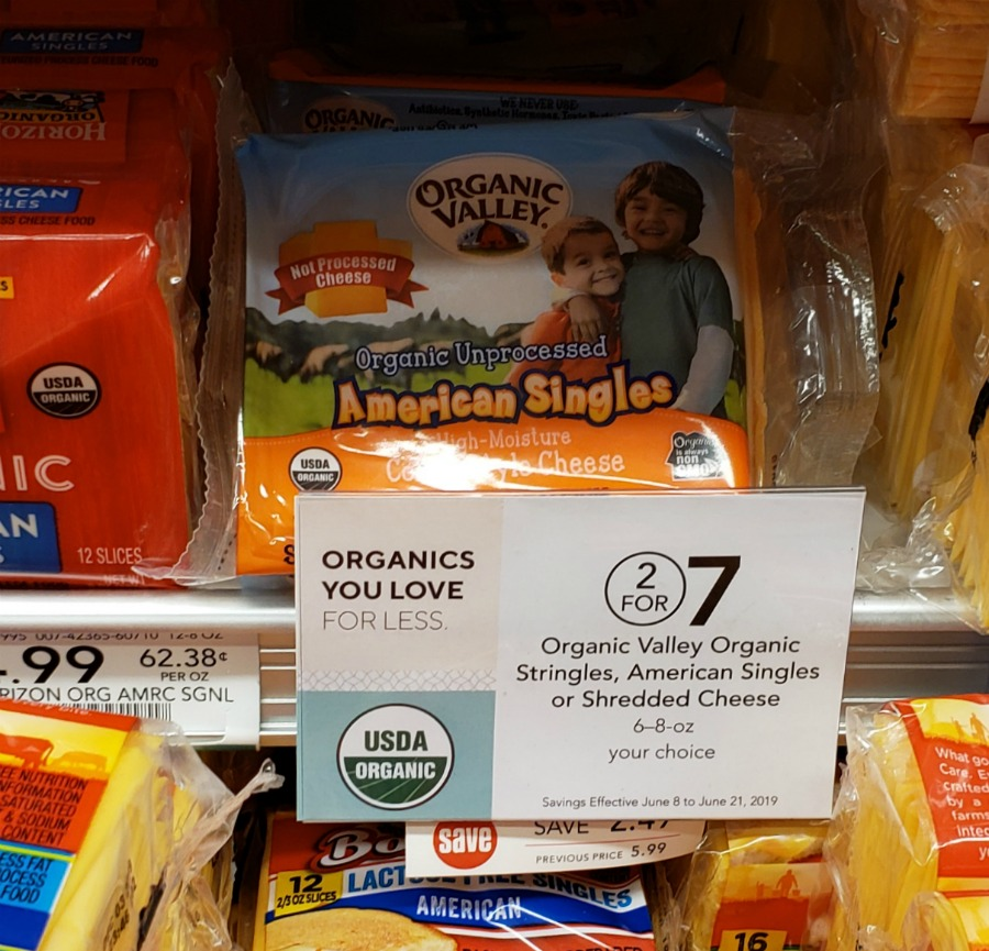 Organic Valley Organic American Singles - Just $2.25 At Publix on I Heart Publix 1