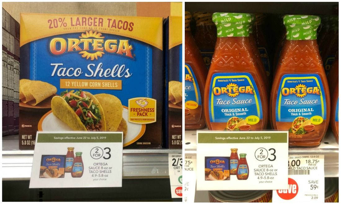Ortega Sauce or Taco Shells Just $1 At Publix on I Heart Publix
