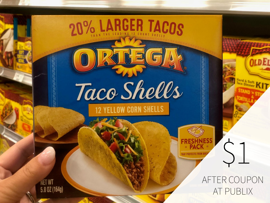 Ortega Sauce or Taco Shells Just $1 At Publix on I Heart Publix 1