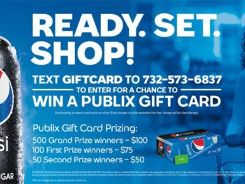 Sweepstakes, I Heart Publix