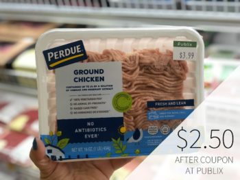 Perdue Ground Chicken Just $2.50 At Publix on I Heart Publix