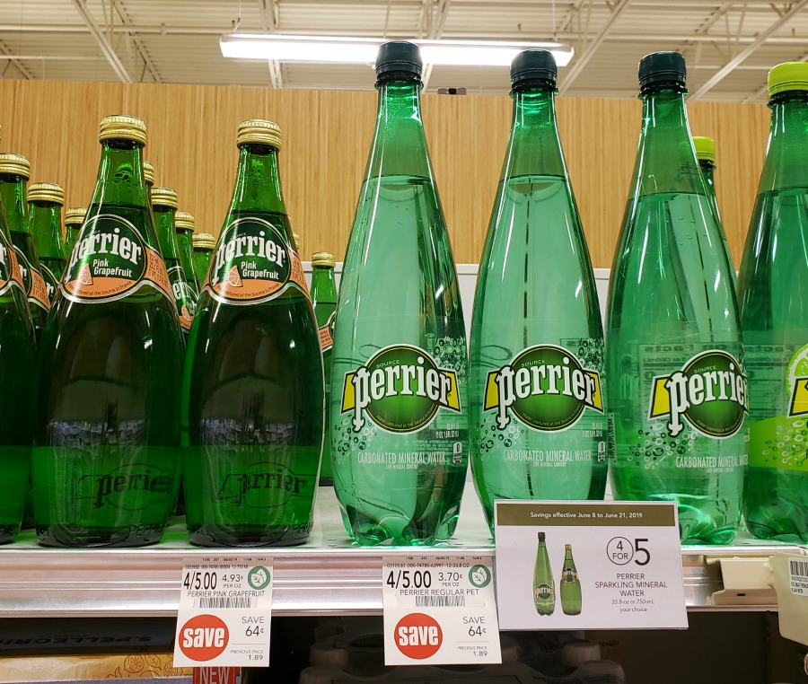Perrier Sparkling Mineral Water Just 98¢ At Publix on I Heart Publix