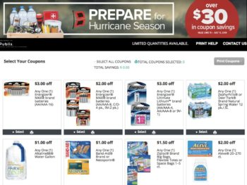 New Prepare for Hurricane Season Booklet & Printable Coupons - Publix Coupons Valid Through 7/13 on I Heart Publix 1