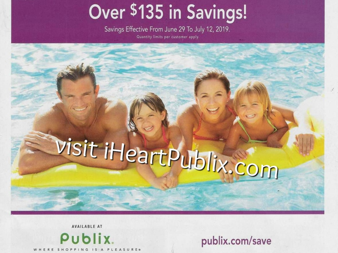 Publix Health & Beauty Advantage Buy Flyer Valid 6/29 to 7/12 on I Heart Publix