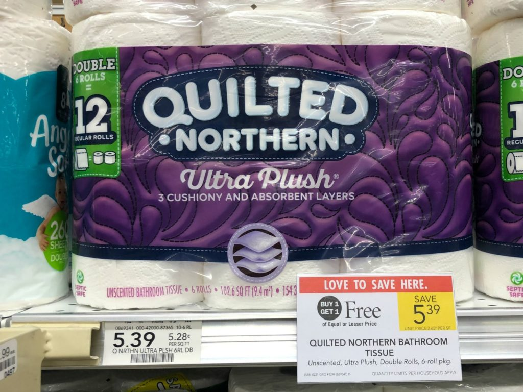 Quilted Northern Bathroom Tissue Only $2.20 At Publix on I Heart Publix 1
