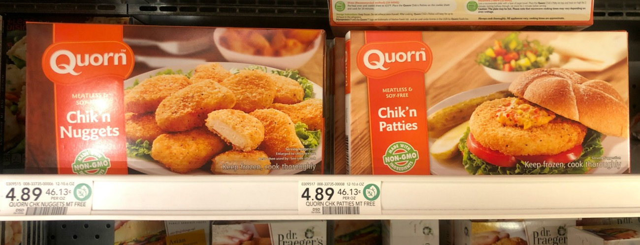 Quorn Meatless Coupon + Cash Back Offer = Chik'n Nuggets or Patties Just $1.39 on I Heart Publix