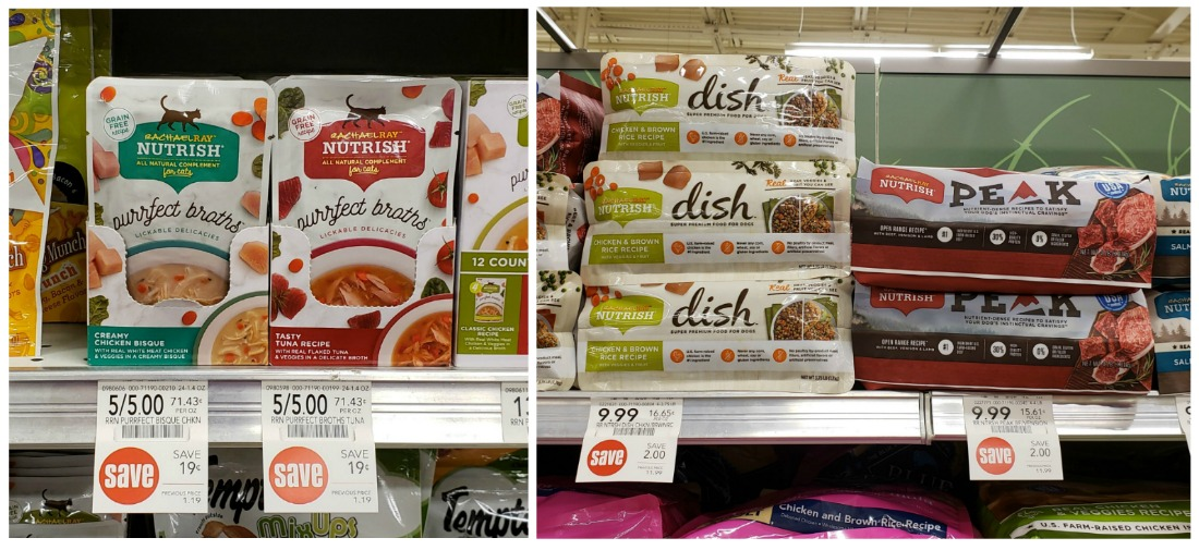 Rachael Ray Nutrish Broths Wet Cat Treats Just 75¢ (Plus Save On Dog Food) on I Heart Publix