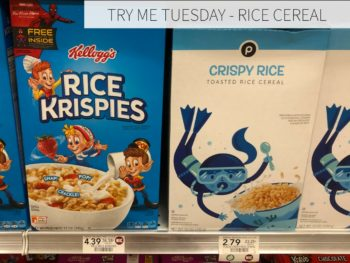 Try Me Tuesday - Publix Rice Cereal on I Heart Publix