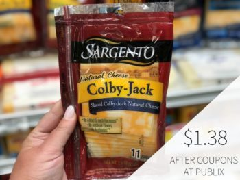 Sargento Cheese Slices on I Heart Publix