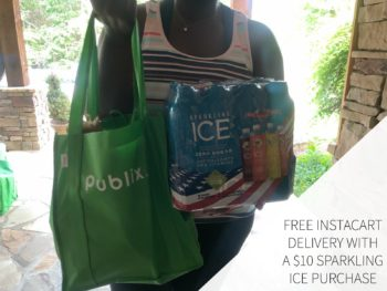 Free Instacart Delivery With Your $10 Sparkling Ice Purchase (Valid Through 6/30) on I Heart Publix 1