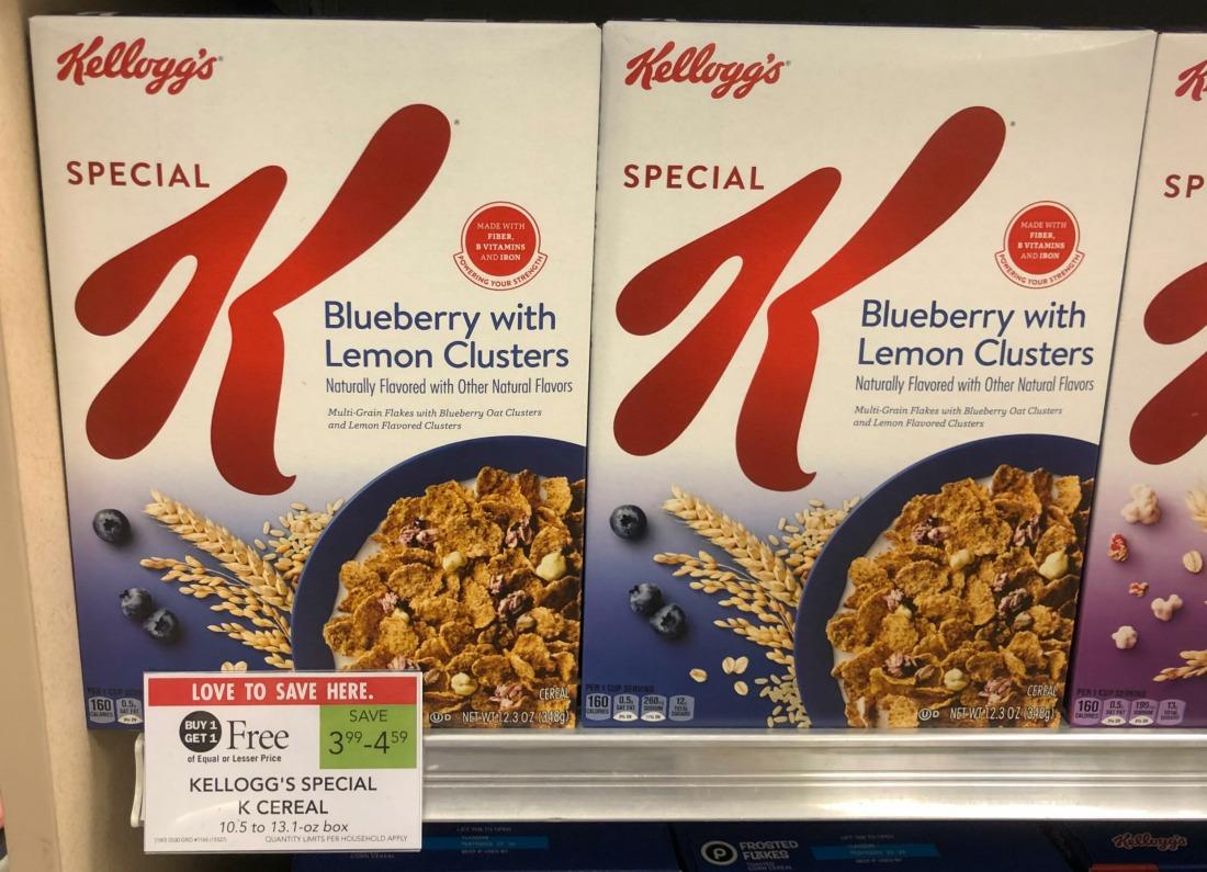 New Kellogg's Special K Cereal Digital Coupon For Publix BOGO on I Heart Publix