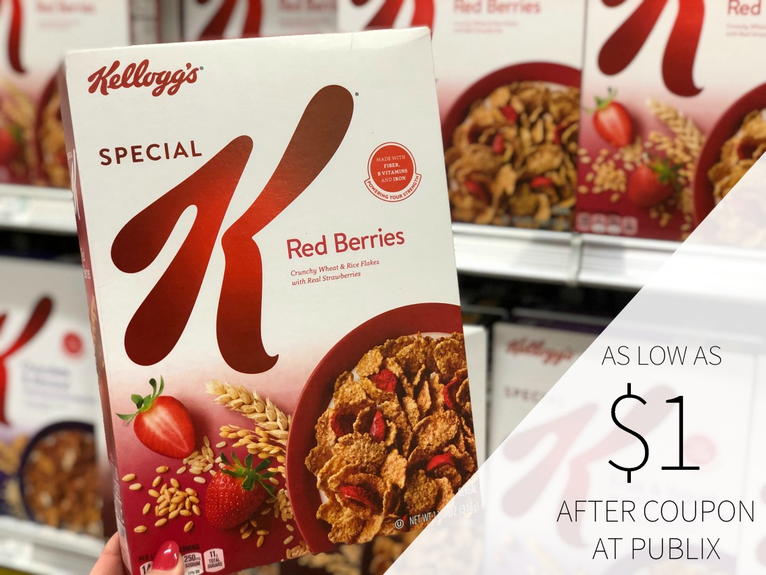 New Kellogg's Special K Cereal Digital Coupon For Publix BOGO - As Low As $1 At Publix on I Heart Publix
