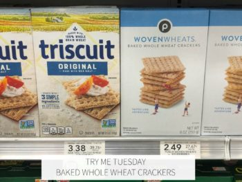Try Me Tuesday - Baked Whole Wheat Crackers on I Heart Publix