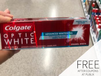 New Colgate Toothpaste Coupon For The Publix Sale - Toothpaste Just $1 on I Heart Publix
