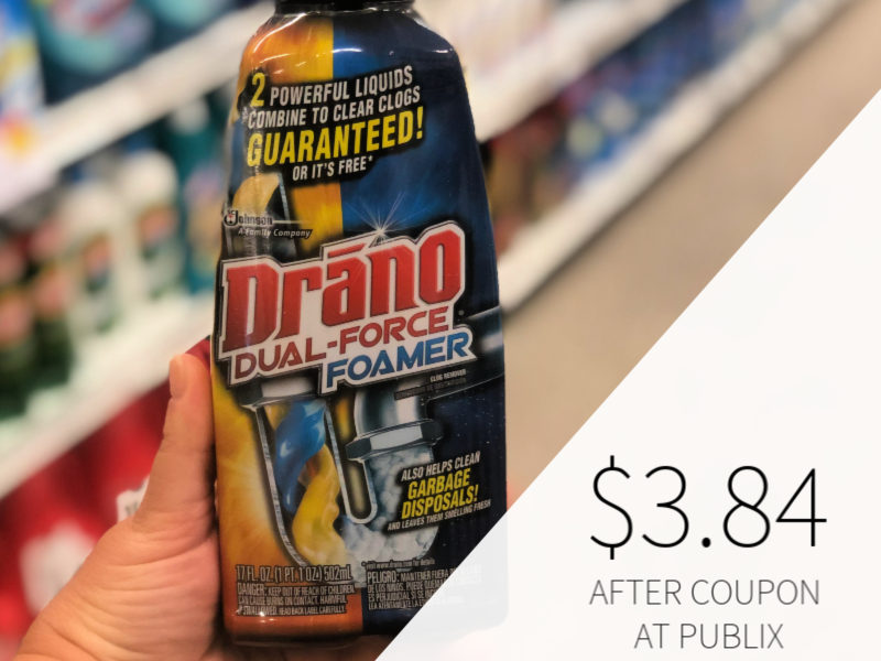 New Drano Coupon - Only $3.84 At Publix on I Heart Publix 1