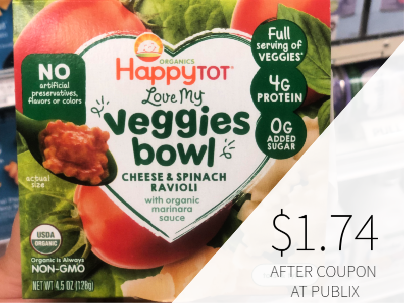 New Happy Tot Organics Meal Bowl Coupon - Only $ on I Heart Publix 1
