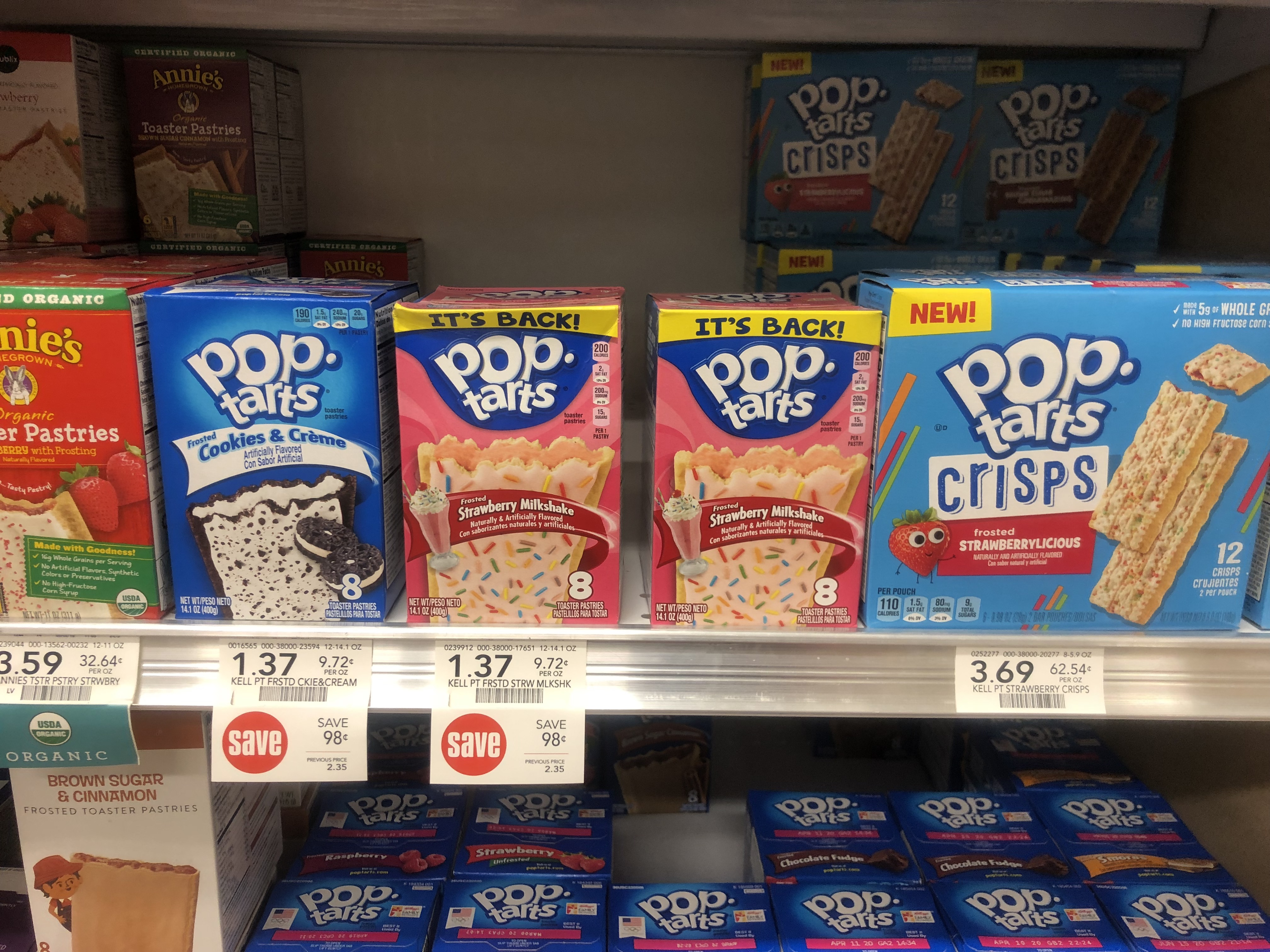 graphic relating to Pop Tarts Coupon Printable identify Contemporary Pop-Tarts Coupon Helps make For A Very good Package deal At Publix