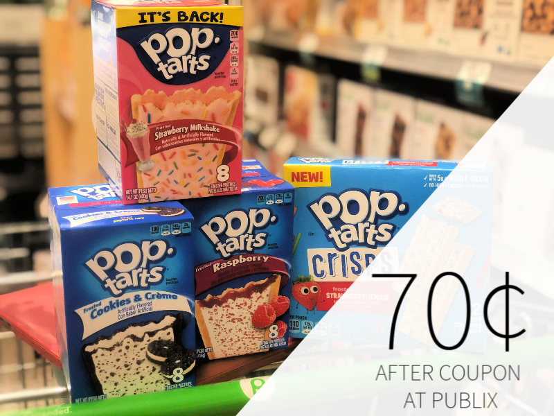 image relating to Pop Tarts Coupons Printable identified as Fresh Pop-Tarts Coupon Generates For A Remarkable Package deal At Publix