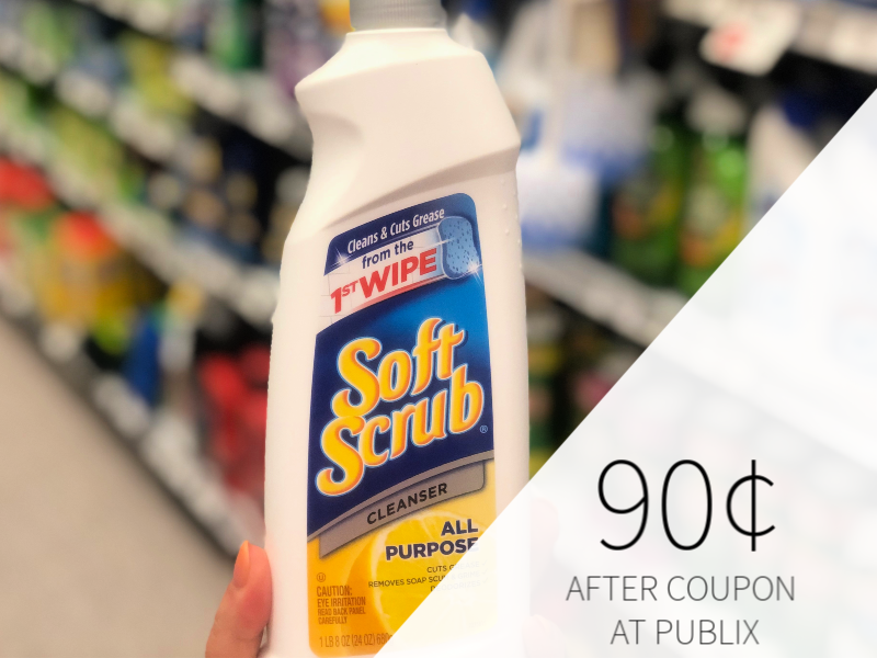 Soft Scrub Cleanser Just 90¢ At Publix on I Heart Publix
