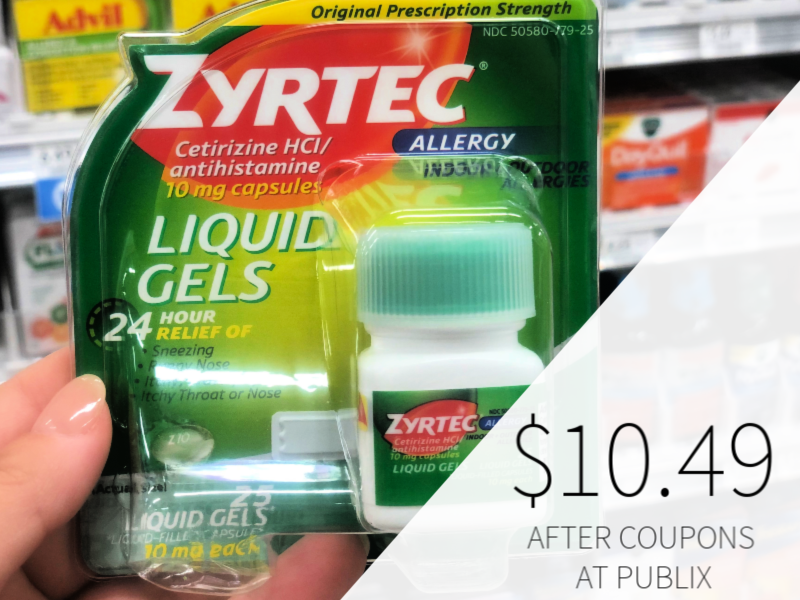 It's just a picture of Revered Zyrtec Printable Coupon $10