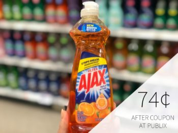 New Ajax Coupon To Print - Dish Soap As Low As 74¢ At Publix on I Heart Publix 1