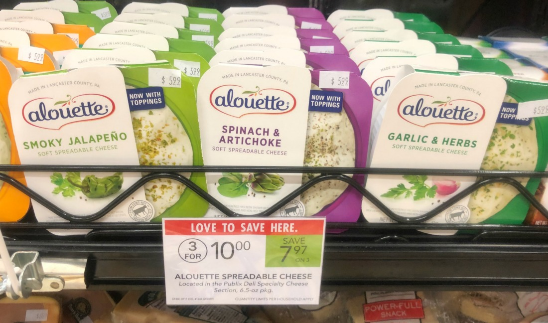 Alouette Spreadable Cheese on I Heart Publix