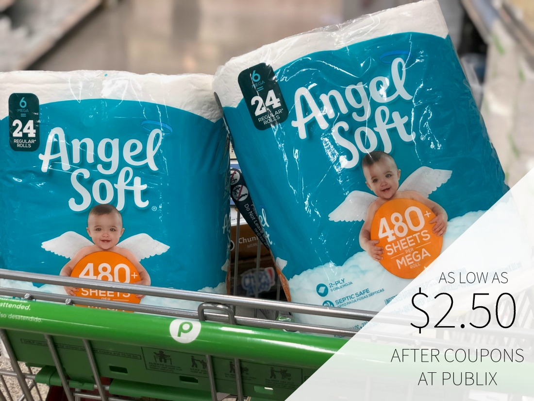 Angel Soft Bathroom Tissue As Low As 2 50 At Publix