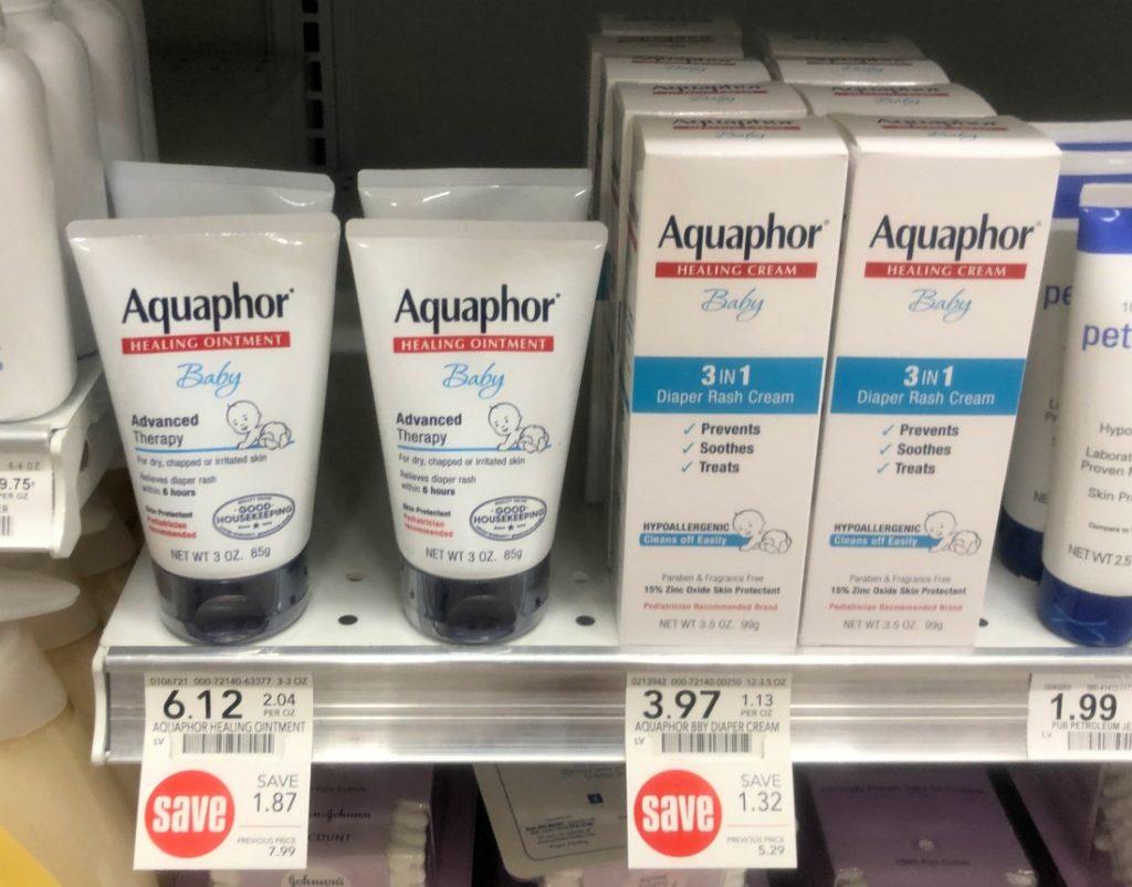 Aquaphor Baby Diaper Rash Cream Just $1.97 At Publix (reg $5.29) on I Heart Publix