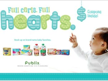 New Baby Booklet - Full Carts Full Hearts Coupons Valid Through 8/21 on I Heart Publix