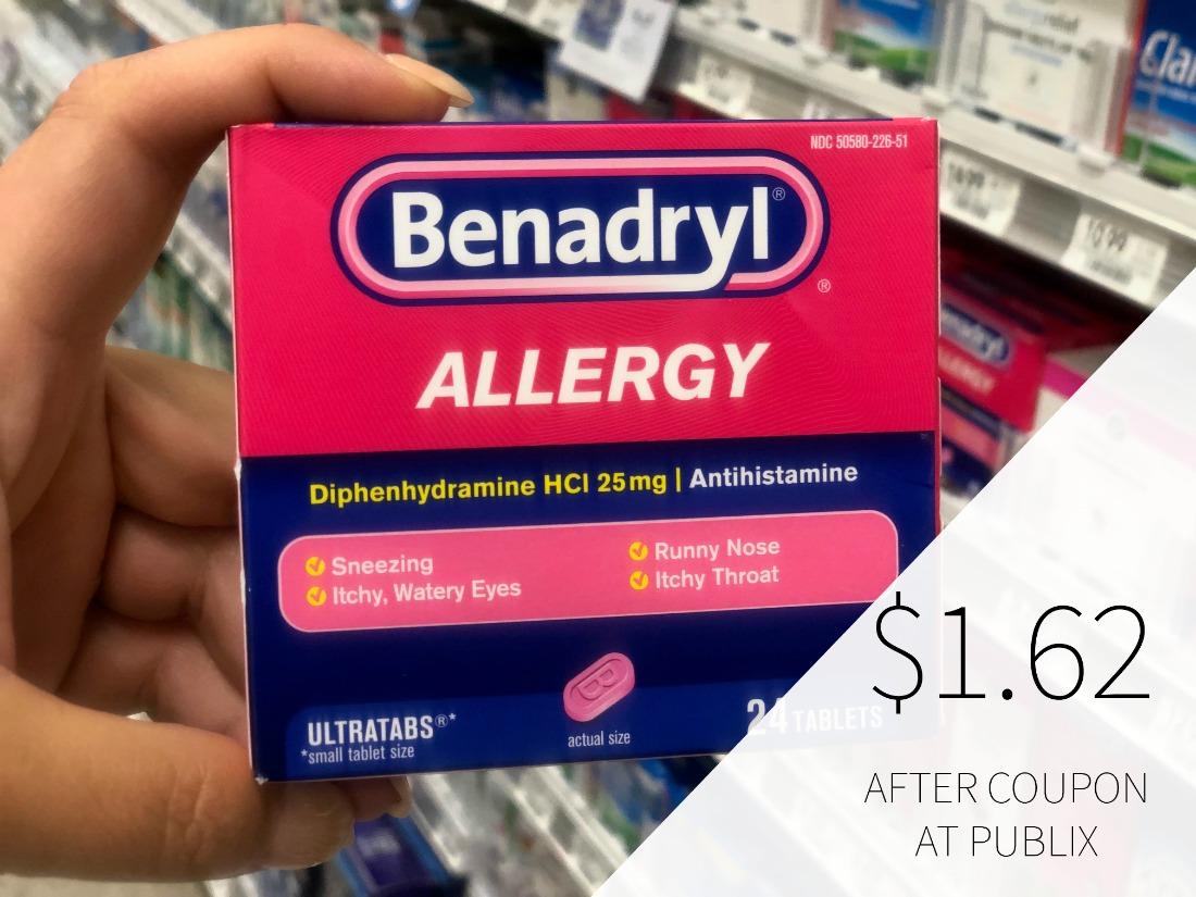 Benadryl Only $1.62 At Publix on I Heart Publix 1