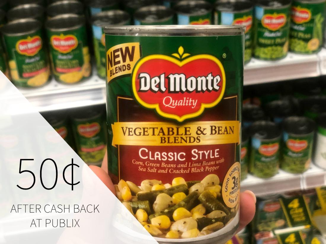 Del Monte Vegetable & Bean Blends Just 50¢ At Publix (Plus Cheap Veggies) on I Heart Publix