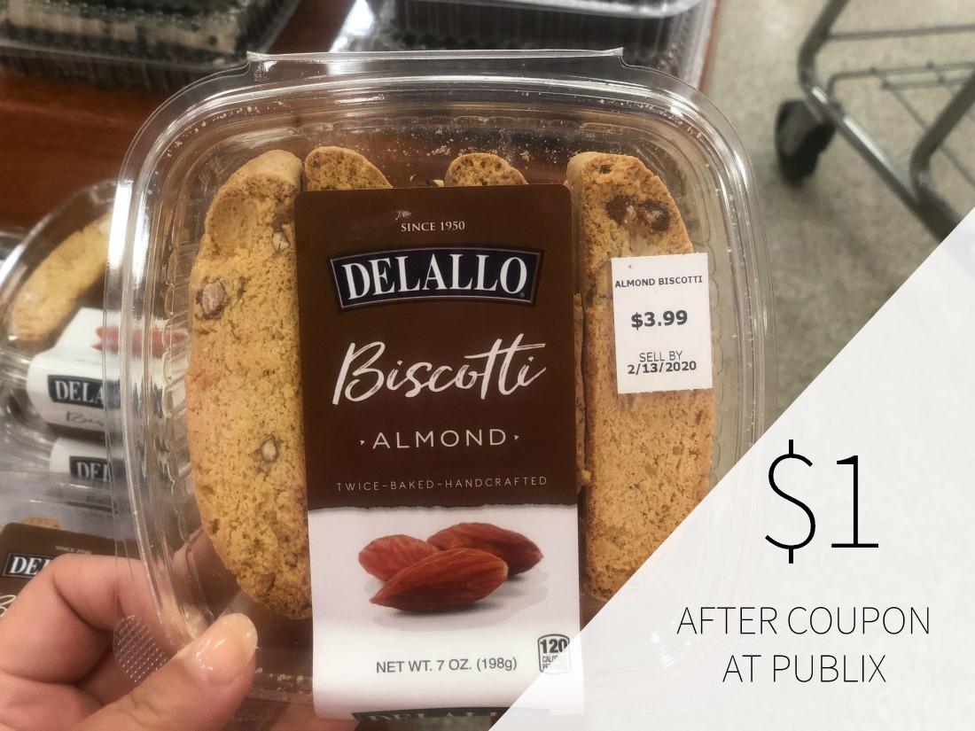 DeLallo Biscotti Just $1 At Publix on I Heart Publix 1