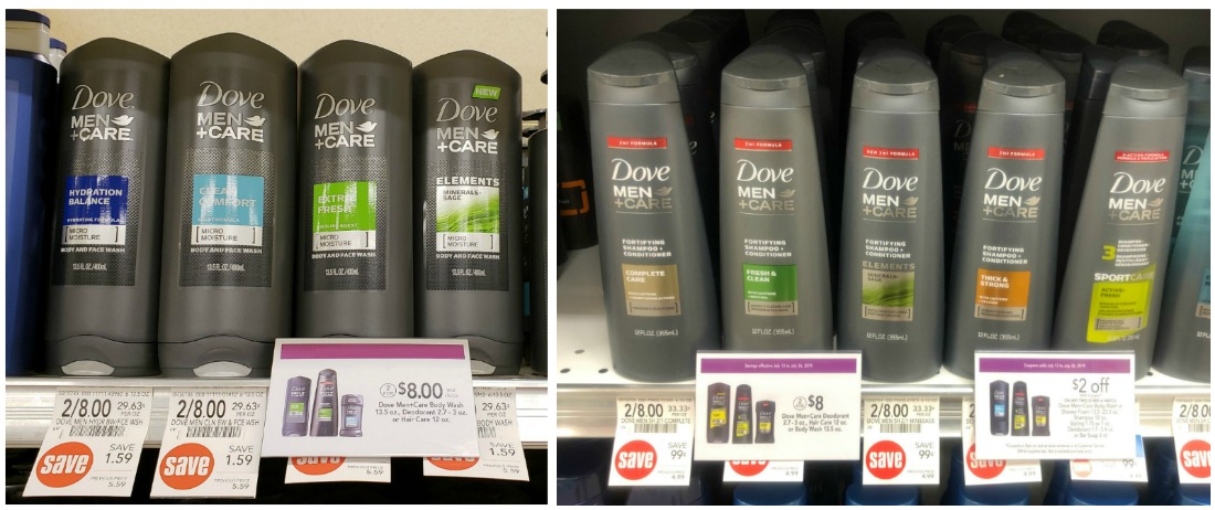 Dove Men+Care Body Wash or Shampoo Just $1.50 At Publix on I Heart Publix