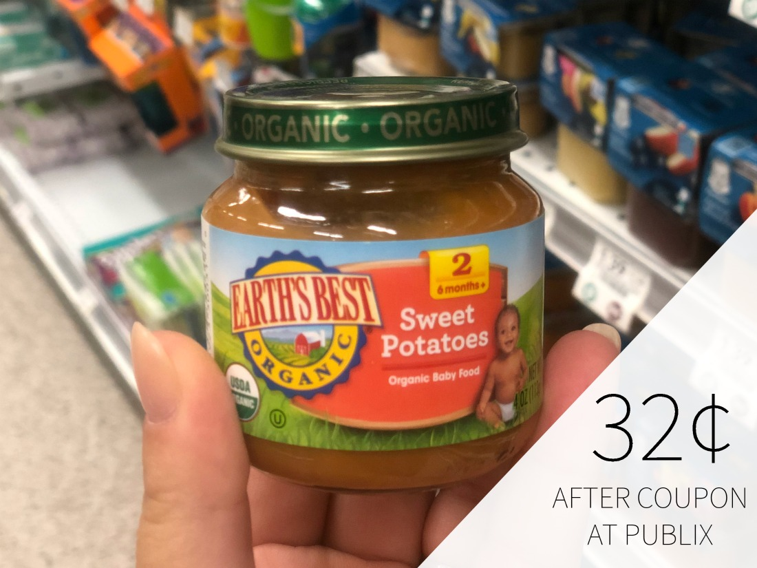 Earth's Best Organic Baby Food Only 32¢ At Publix on I Heart Publix 1