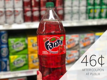 Super Deal On Select Coca-Cola 2 Liters - Fanta, Minute Maid, Barq's & More Just 46¢ Per Bottle on I Heart Publix