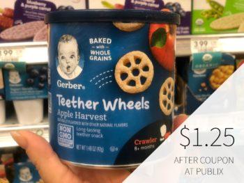 Gerber Graduates Snacks Just $1.25 At Publix on I Heart Publix 1