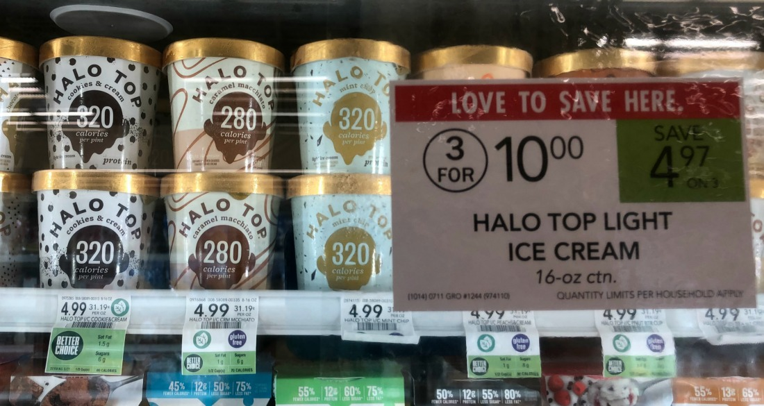 Halo Top Ice Cream Pints As Low As $2.08 At Publix on I Heart Publix