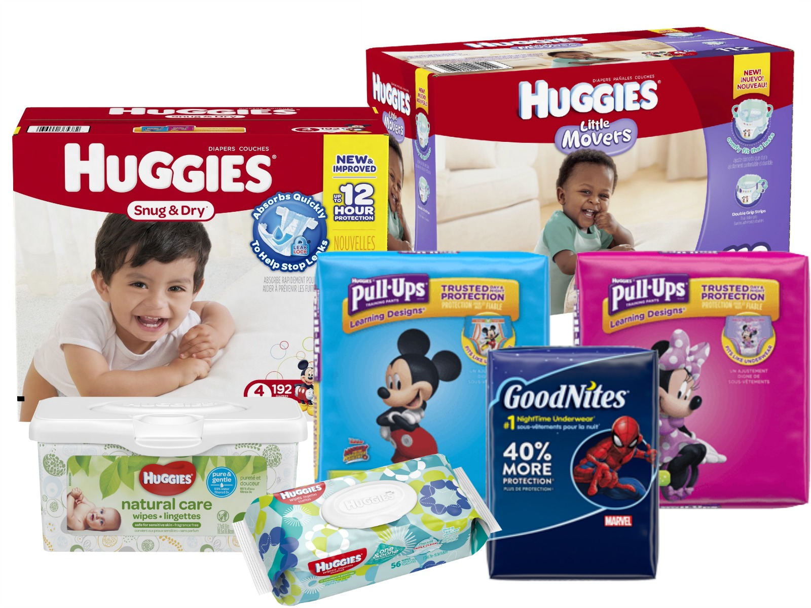 Free Instacart Delivery With A $20 Huggies, Pull-Ups & GoodNites Purchase At Publix on I Heart Publix 1