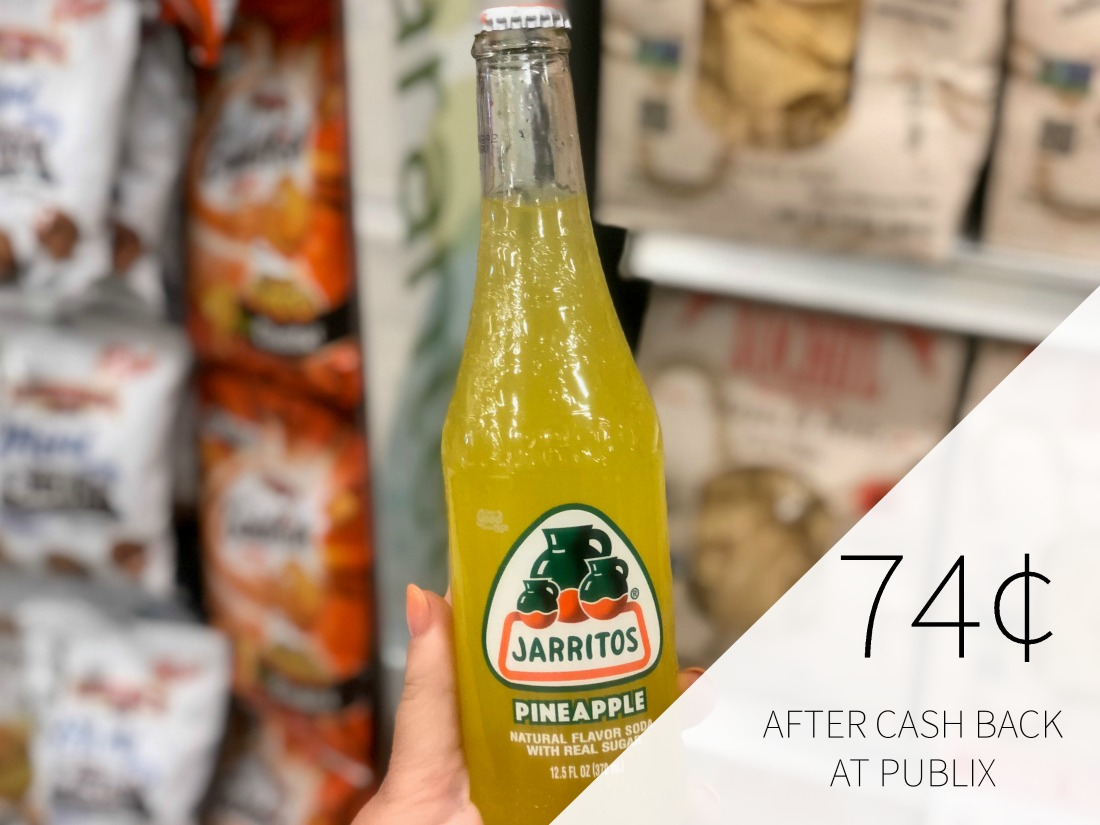 Jarritos Soda Ibotta For Publix Sale on I Heart Publix 1