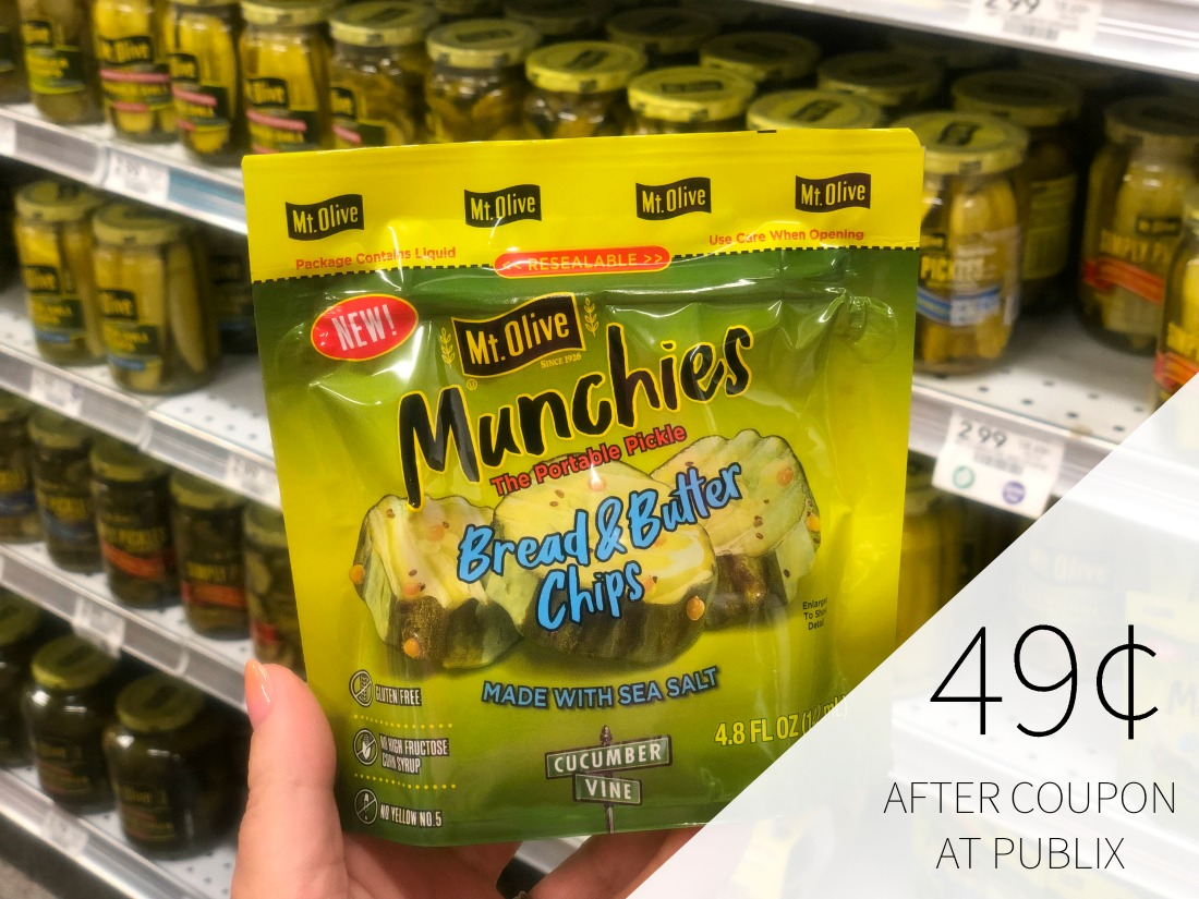 Mt. Olive Munchies Just 49¢ At Publix on I Heart Publix 1