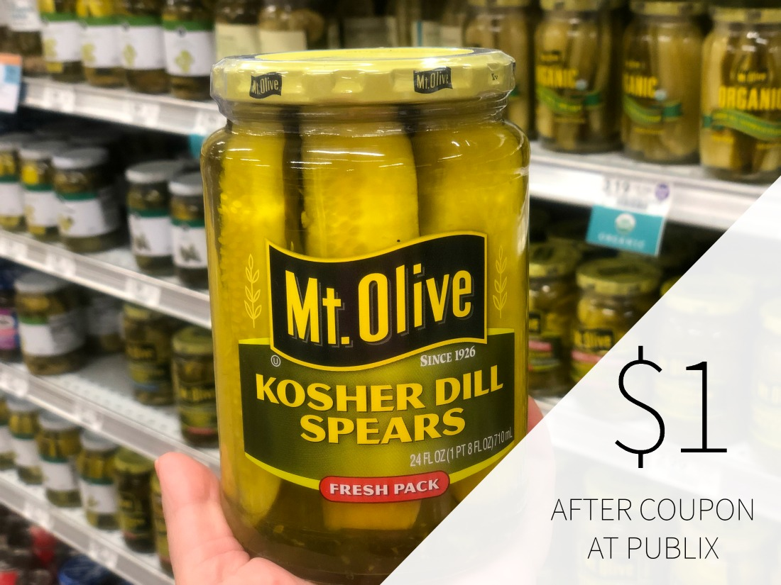 Mt. Olive Pickles Just $1 At Publix on I Heart Publix