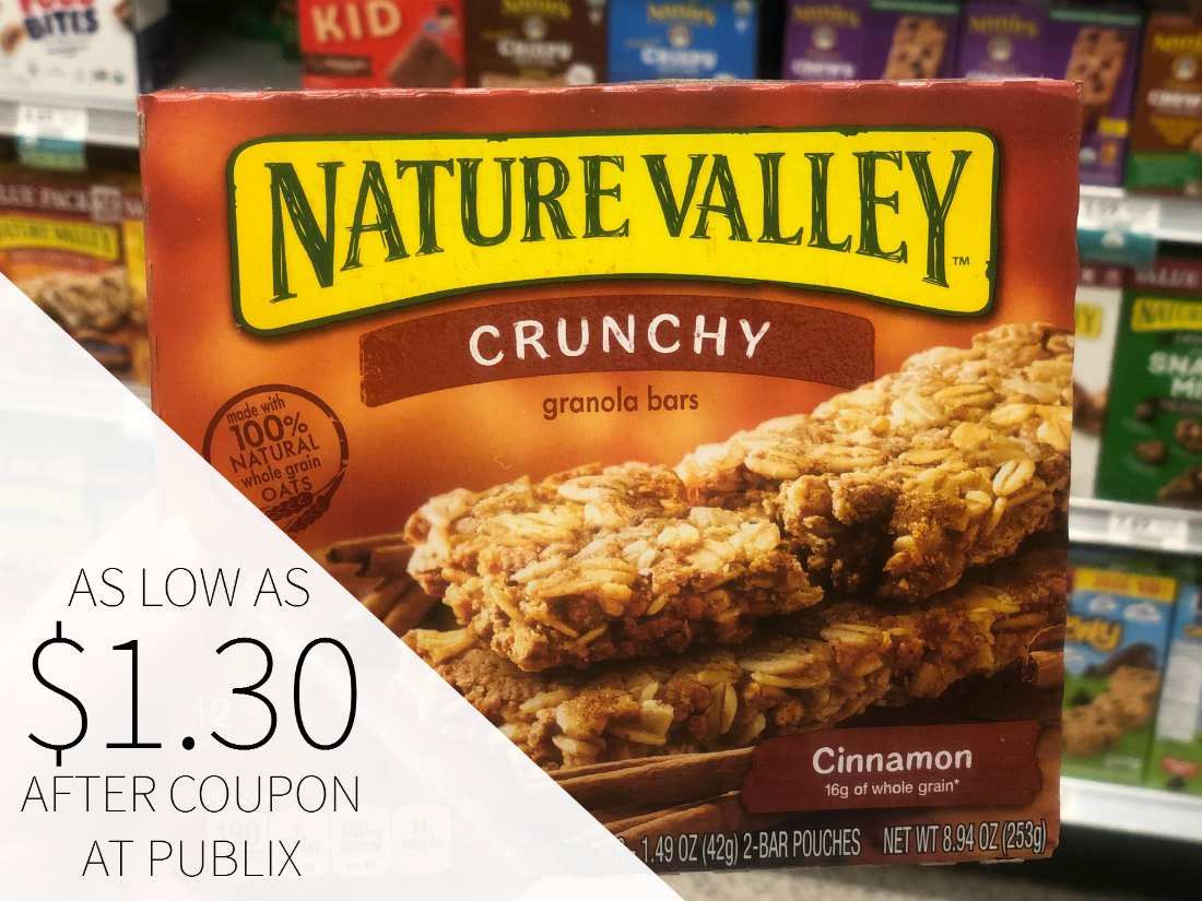 Nature Valley Bars As Low As $1.30 Per Box At Publix on I Heart Publix