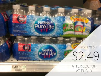 New Nestle Pure Life Water Coupon For Upcoming Sale on I Heart Publix