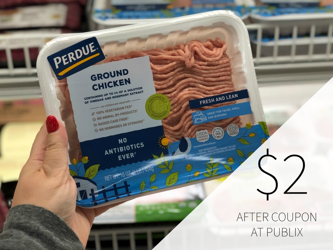 Nice Deals On Perdue Chicken This Week At Publix - Ground Chicken Just $2 on I Heart Publix 1